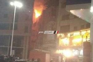 اخماد حريق نشب في شقة سكنية بدمياط دون اصابات (صور)