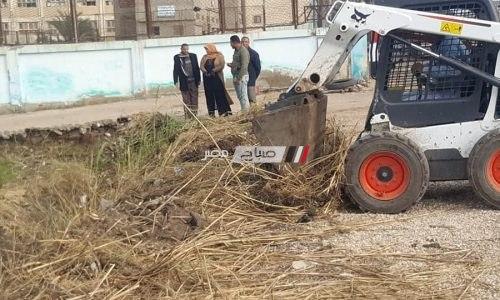 شن حملة نظافه بقرية دسونس ام دينار وتوابعها بدمنهور