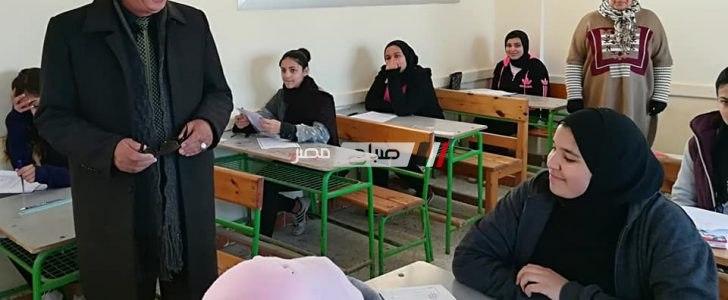 وكيل التعليم بدمياط يتفقد لجان الامتحانات للفصل الدراسي الاول (صور)
