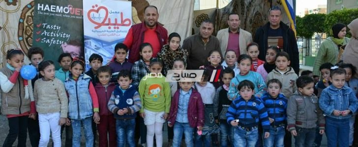 """انطلاق حملة """"أطفالنا أملنا لعلاج الأنيميا"""" برعاية تضامن دمياط"""