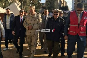 رئيس قوات الدفاع الشعبي يتابع استعدادات تضامن دمياط لإدارة أزمة مفترضة