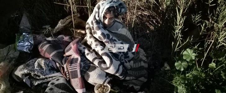 ايداع سيدة عثر عليها الاهالي وسط القمامة باحدى دور الرعاية بدمياط (صور)