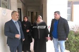 مدير ادارة عزبة البرج التعليمية يتفقد سير الامتحانات بالمرحلتي الابتدائية و الاعدادية