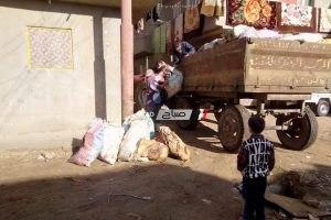استمرار حملات النظافة بالوحدة المحلية لقرية نديبة