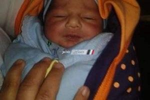 العثور على طفل رضيع ملقى في الشارع بدمياط