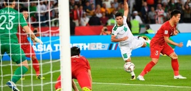 نتيجة مباراة العراق وفيتنام