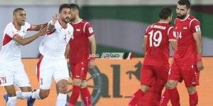 مباراة فلسطين والاردن