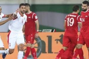 نتيجة مباراة فلسطين والاردن