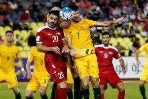 نتيجة مباراة استراليا وسوريا
