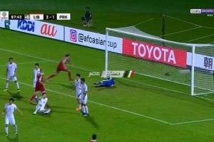 نتيجة مباراة لبنان وكوريا الشمالية