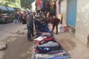 حملات إزالة إشغالات وتعديات مكثفة بحى وسط فى الإسكندرية