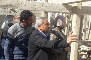 بالصور إيقاف أعمال بناء مخالف بحى الجمرك فى الإسكندرية