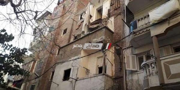 ثمانية مناطق غير آمنة وعقارات مهددة بالانهيار بالإسكندرية