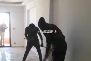 إيقاف أعمال بناء عقارين مخالفين بحي العامرية بالاسكندرية