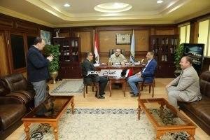 تحرير 17 محضر متنوع بحملة المتابعة التموينية بكفر الشيخ