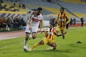 نتيجة مباراة الزمالك ونصر حسين داي