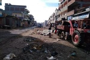رئيس محلية دمنهور: شن حملة نظافة مكبرة بقرية افلاقة