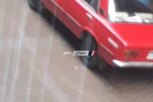 بالصور هطول امطار غزيرة بالاسكندرية الان
