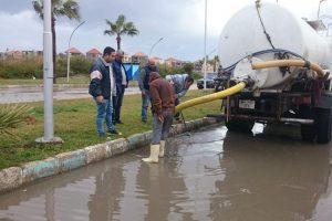 الإسكندرية غير مؤهلة لشبكات الصرف الصحي للأمطار.. تعرف على السبب