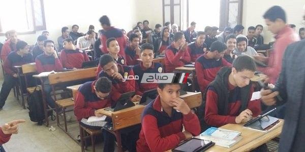 """تكرار مشكلة """"السيستم واقع"""" في ثاني أيام امتحان الصف الأول الثانوي بالإسكندرية"""