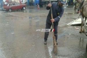 رفع حالة الطوارىء والاستعداد لمواجهة الطقس الغير مستقر بالإسكندرية