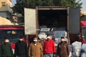 القبض على تشكيل عصابي سرق سيارة نقل محملة بكمية من البضائع بالإسكندرية