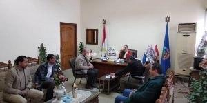 اجتماع رئيس محلية دمنهور