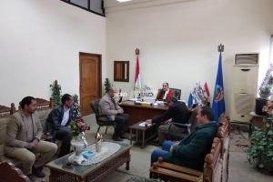 رئيس محلية دمنهور يحيل مسئول النظافة بمجلس قريه زاويه غزال