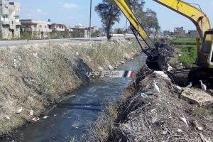 وكيل زراعة دمياط: تطهير 4 مصارف مياه بعد تكرار شكاوى المواطنين