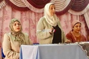 عقد ندوة للاحتفال بيوم المراة المصرية  و الاعلان عن حملة الكشف المبكر لاورام الثدى بالمجان بدمياط