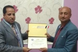 رئيس مركز ومدينة كفر البطيخ يكرم رئيس محلية الرياض