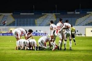 نتيجة مباراة المقاولون العرب والزمالك الدورى المصرى