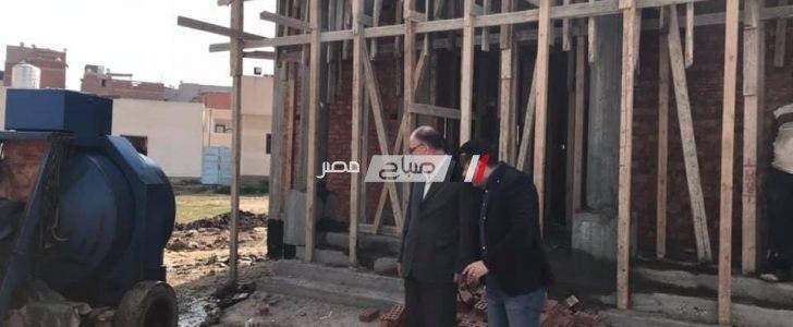 رئيس محلية السرو يتفقد اعمال انشاء مسجد داخل المستشفى المركزي