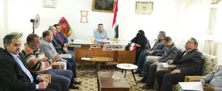 عبد السميع يشدد على تكثيف اعمال توعية المزارعين بكافة الطرق المتاحة بدمياط