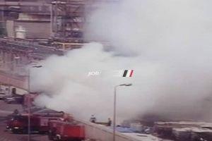 اخماد حريق بأحد المطاعم بشاعر التحرير في حى الدقى