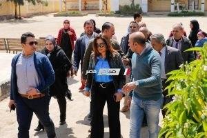 محافظ دمياط تتابع سير عملية الاستفتاء على التعديلات الدستورية مع بداية اليوم الثالث