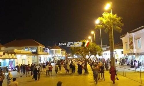 شوارع رأس البر بدون اشغالات طوال ايام عيد الفطر المبارك وشم النسيم الماضيين لأول مرة