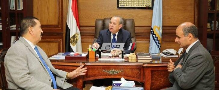تشكيل لجنة لدراسة المحاور وإقتراح ما يخدم الحركة المرورية بكفر الشيخ