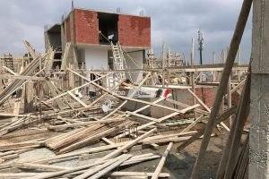 تنفيذ قرار جديد لايقاف اعمال بناء بالمخالفه بمدينة دمنهور