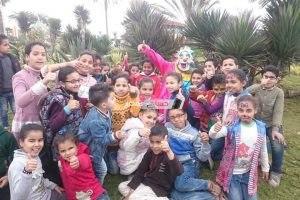 جمعية الحسنى الخيرية تحتفل بيوم اليتيم بحديقة دمياط الجديدة المركزية
