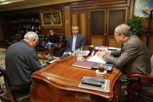 تحرير 25 محضر متنوع بحملة المتابعة التموينية بكفر الشيخ