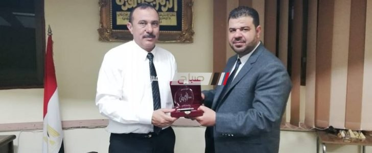 جمعية الأورمان تٌكرم وكيل وزارة التضامن الإجتماعى بدمياط
