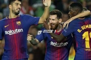 نتيجة مباراة برشلونة وآرسنال الودية