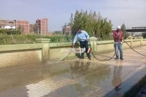 رئيس محلية دمنهور: نتابع حملات النظافة بطريق الكورنيش