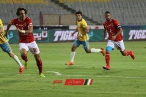 نتيجة مباراة الأهلي والإسماعيلي في الدوري المصري الممتاز