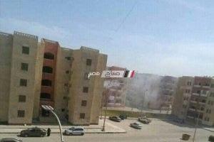 اخماد حريق نشب في وحدة سكنية بدمياط الجديدة دون وفيات .. صورة