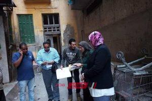 بالصور إغلاق ورشة دهان بحي الجمرك لأضرارها بالبيئة بالإسكندرية