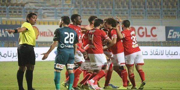 موعد مباراة الأهلي وإنبي الدوري المصري والقنوات الناقلة