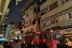 السيطرة على حريق داخل منزل فى منطقة الهرم