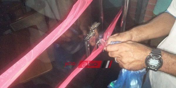 إغلاق 6 كافتيريات بطريق الكورنيش بالإسكندرية.. صور